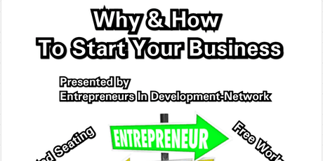 Why & How To Start Your Business  tickets