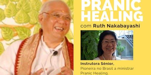 São Paulo Curso de Pranic Healing Básico por Ruth Nakabayashi Cura Prânica
