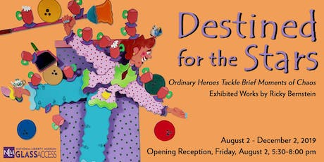 "Ricky Bernstein's ""Destined for the Stars"" Solo Exhibition tickets"