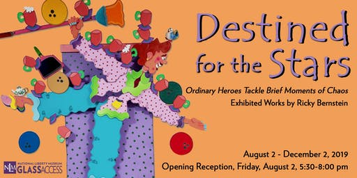 """Ricky Bernstein's """"Destined for the Stars"""" Solo Exhibition"""