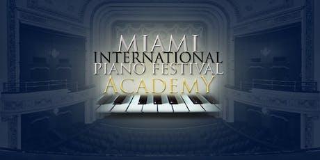 "Miami International Piano Festival Academy Grand Finale ""Celebrating the Piano"" tickets"