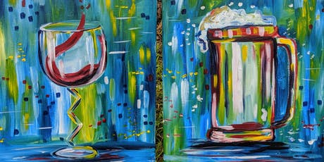 Paint and sip at Redbone with pARTy tickets
