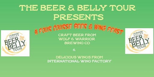 Beer & Belly Tour Present Wing Feast!