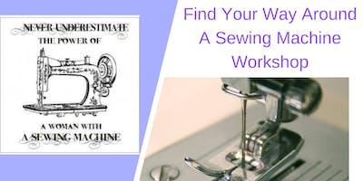 Find Your way Around A Sewing Machine