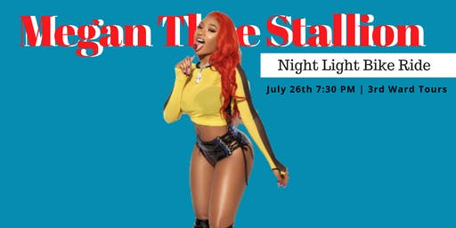 Megan Thee Stallion   |  Night Light Bike Ride