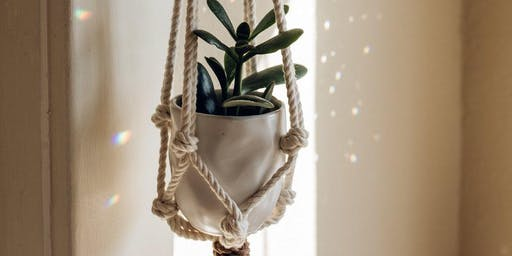 Macrame Plant Hangers with Danielle Churchill of Radical Souls Collective