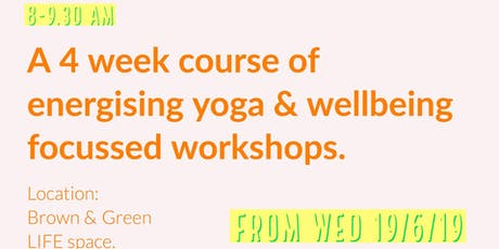 Rise and Shine! Yoga and Mindfulness Workshops. tickets