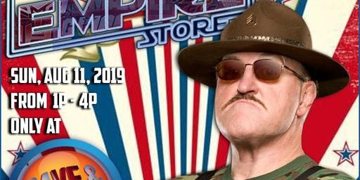 WWE HALL OF FAMER SGT SLAUGHTER MEET & GREET