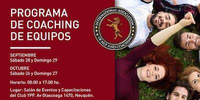 FORMACIÓN EN COACHING DE EQUIPOS