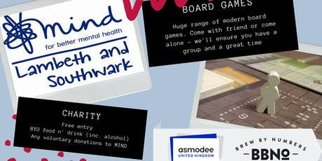 Roll for Mind - Charity Board Games with MIND. tickets