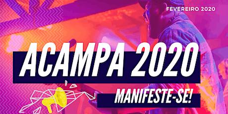 Acampa 2020 - Manifeste-se tickets