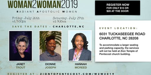 Woman 2 Woman 2019