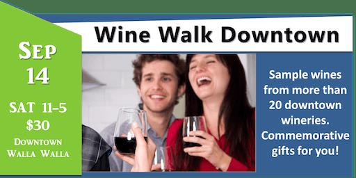 Walla Walla Wine Walk - Downtown