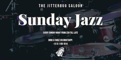 Sunday Live Jazz at The Jitterbug Saloon tickets