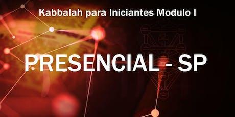 Kabbalah para Iniciantes Presencial para São Paulo -Módulo 1 -- Agosto ingressos