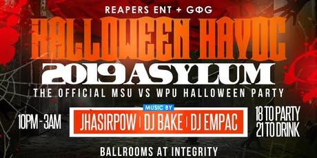 Halloween Havoc: Asylum tickets
