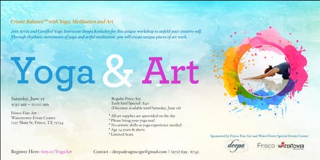 Create Balance℠ with Yoga, Meditation and Art tickets