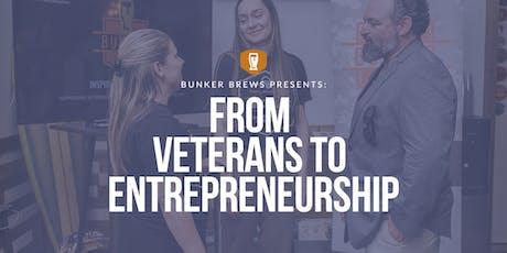 Bunker Brews Wilmington: From Veterans to Entrepreneurship tickets