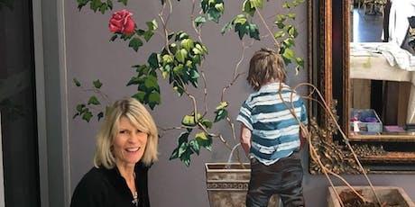 The Artist's Salon - Annette Barlow, Muralist tickets
