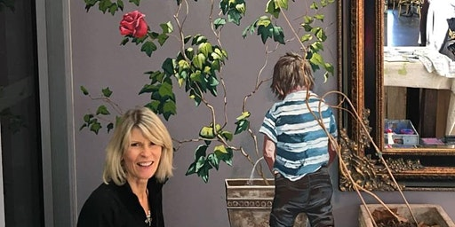The Artist's Salon - Annette Barlow, Muralist