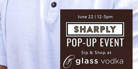 Sip & Shop with Sharply & Glass Vodka Distillery  tickets