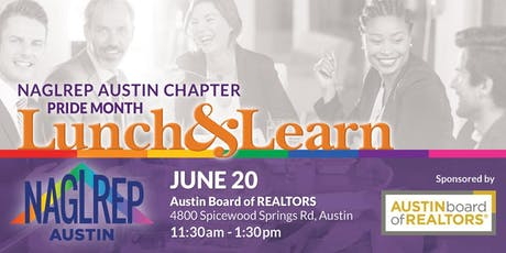 NAGLREP Austin Pride Month Lunch & Learn June 20 tickets