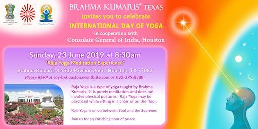 International Day of Yoga with Brahma Kumaris - Houston