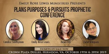 Plans, Purposes & Pursuits Prophetic Conference tickets