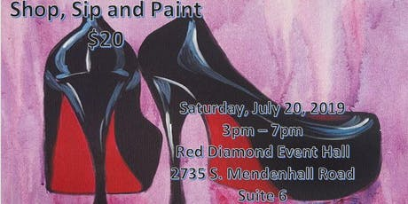 Shop Sip and Paint tickets
