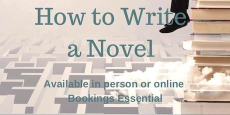 Term 4 'How to Write a Novel' Program tickets