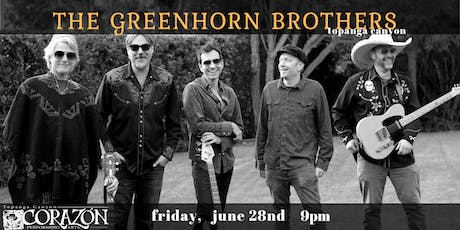 The Greenhorn Brothers play Topanga Canyon tickets