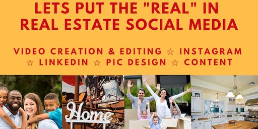 Put the REAL in Real Estate Social Media