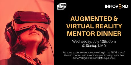 Augmented & Virtual Reality Mentor Dinner  tickets