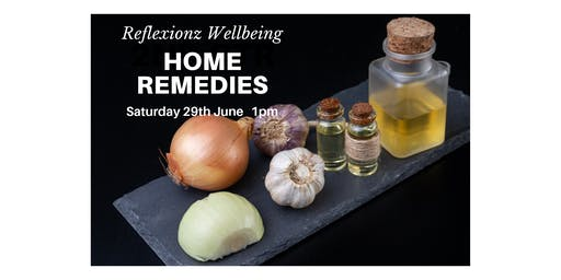 Home Remedies Workshop SOLD OUT