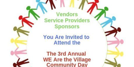 3rd Annual We Are the Village Community Day tickets