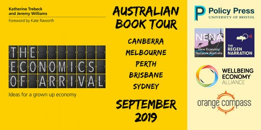 Book Tour - The Economics of Arrival - Katherine Trebeck