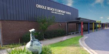 Oriole Beach Elementary Landscaping