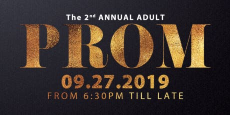 2nd Annual Adult Prom tickets