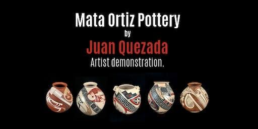 Master Potter Juan Quezada Artist Presentation.