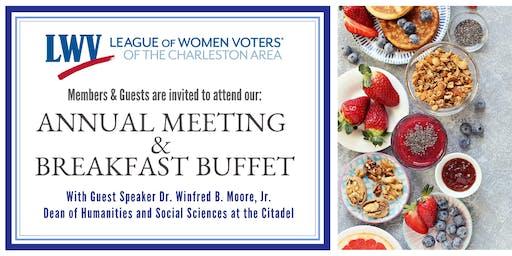 2019 Annual Meeting & Breakfast Buffet