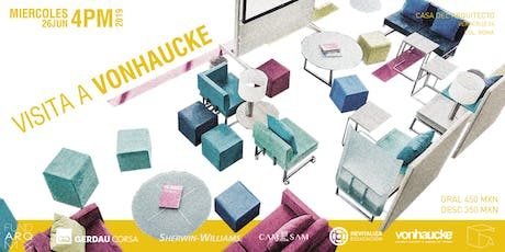 Visita el Showroom de Vonhaucke boletos