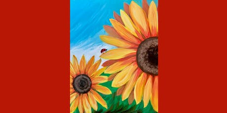 Ladybug on Sunflower tickets
