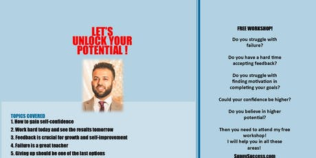 Let's Unlock Your Potential!  tickets