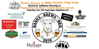Barks Brews & BBQ Charity Dog Walk