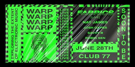 Warp 2.1 ft. Fabrics [LIVE]