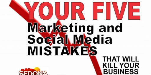 Monthly Marketing Monday: Your 5 Social Media Marketing Mistakes