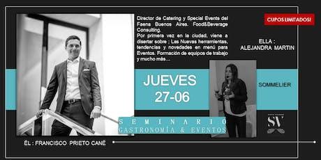 Seminario Gastronomía & Eventos entradas