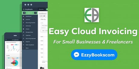 EzzyBooks Product Launch - Online Billing and Accounting Software tickets