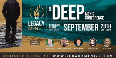 """The Deep"", Men's Conference tickets"