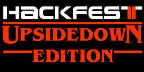 Hackfest 2019 - UpsideDown Edition billets